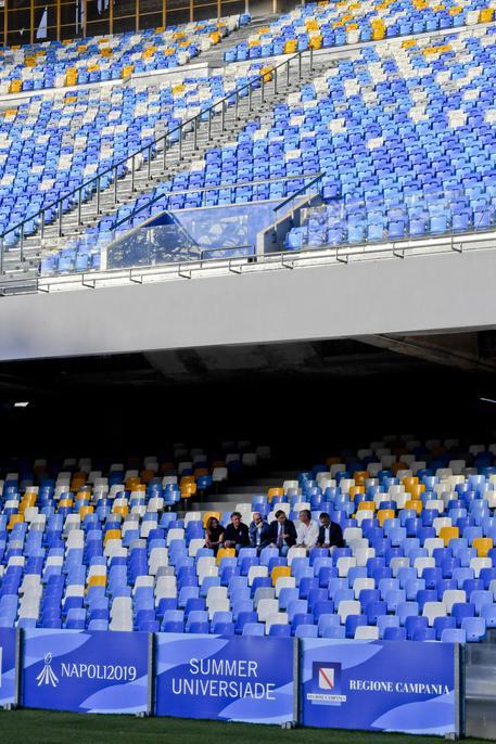 Universiade, atleti paralimpici: non possono entrare allo stadio San Paolo. Sarà possibile solo con l'Unitalsi